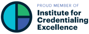 Institute for Credentialing Excellence Membership Logo